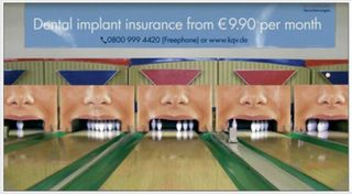 Dental implant ad